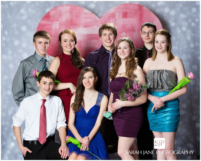 warrensburg latham high school 2014 winter dance court, king queen, sarah jane photography, decatur il