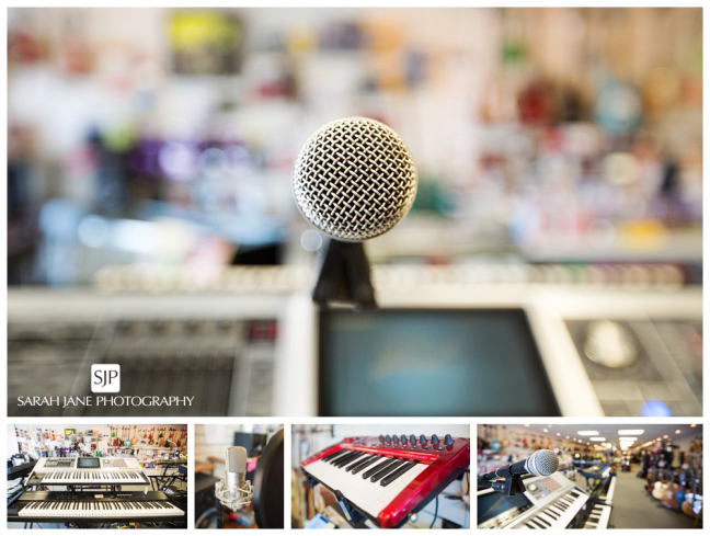 sarah jane photography small business feature, soundcheck music, music store, music supply, decatur il, central Illinois,